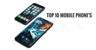 Top 10 mobile phones